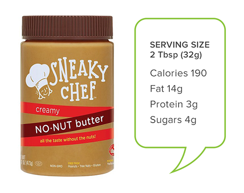 Sneaky Chef no-nut butter | peanut butter alternatives