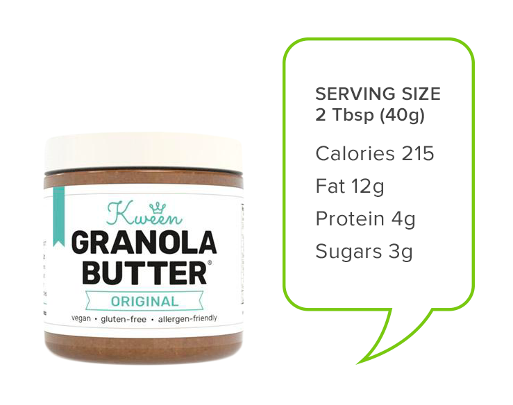 granola-butter-with-nutrition | Alternatives to peanut butter