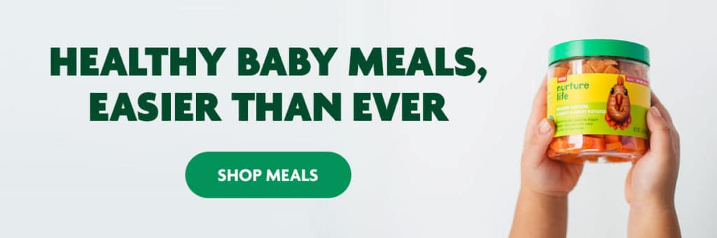 healthy baby meals